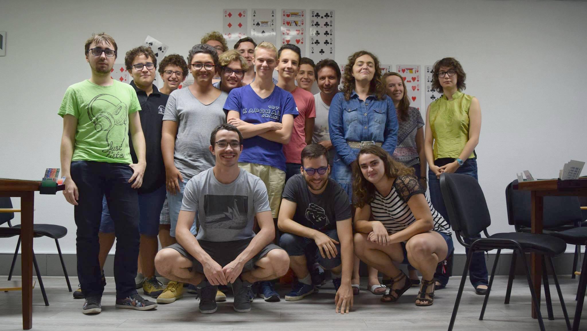 Le club de bridge des jeunes à Lyon !